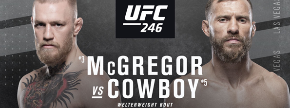 Join us for UFC 246 McGregor vs. Cerrone live at Summers!
